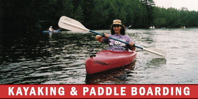 Kayaking & Paddle Boarding